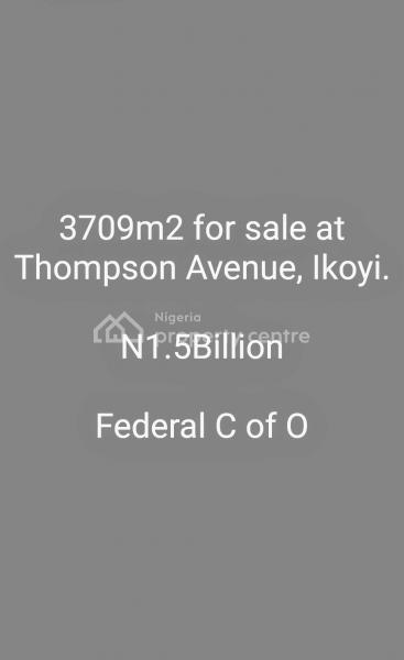 3709m2, Thompson Avenue, Old Ikoyi, Ikoyi, Lagos, Mixed-use Land for Sale