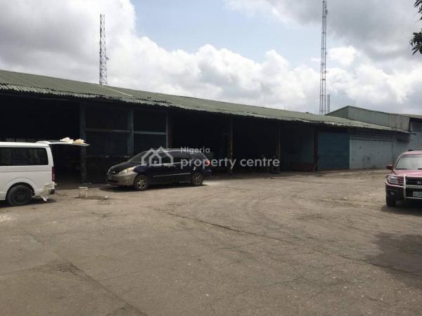 Ware House and Administrative Block on 1.34 Acreses, Burma Road, Apapa, Lagos, Warehouse for Sale