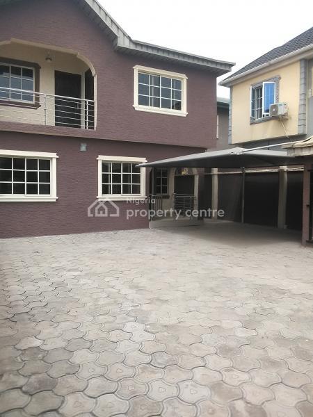 New Renovated 2wing 4bedroom with 2bedroom Duplex, Serene Secured Estate, Oko-oba, Agege, Lagos, Detached Duplex for Sale