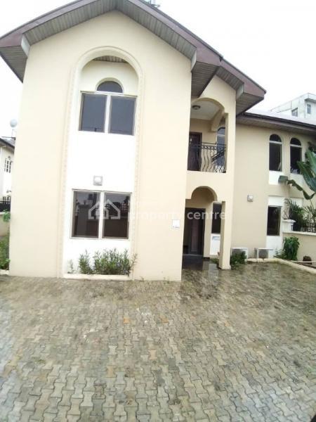 Well Built 4 Bedroom Semi Detached Duplex, Osborne, Ikoyi, Lagos, Semi-detached Duplex for Sale