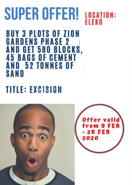Best Government Excision Land!, Zion Gardens Estate, Ibeju, Lagos, Mixed-use Land for Sale