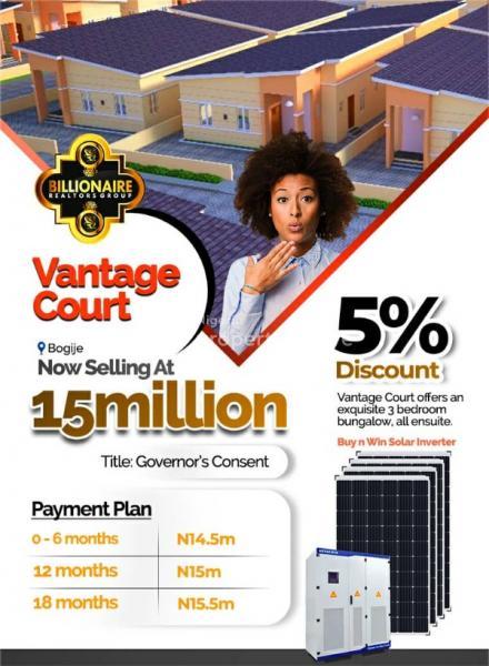 House Apartment, Bogije, Lekki, Lagos, Sangotedo, Ajah, Lagos, Detached Bungalow for Sale