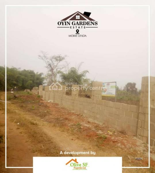 Dry & Verified Land Within a Gated Estate with Good Title, Mowe Ofada, Ogun, Mixed-use Land for Sale