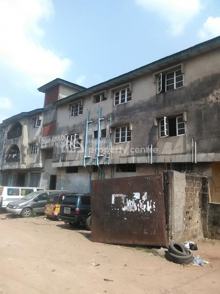Highly Commercial Solid Block of 6flat. Corner Piece, Facing Oniwaya Road By Cement, Dopemu, Agege, Lagos, Block of Flats for Sale
