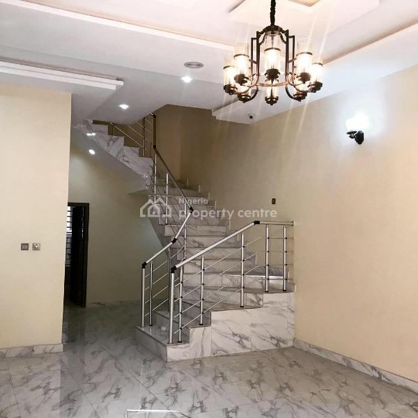 Brand New 4 Bedroom Semi-detached Duplex, Chevron Alternative, Lekki Phase 2, Lekki, Lagos, Terraced Duplex for Rent