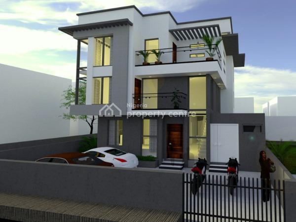 an Off Plan 5 Bedroom Detached Duplex with 1 Room Bq, Lekki Right Side, Lekki, Lagos, Detached Duplex for Sale
