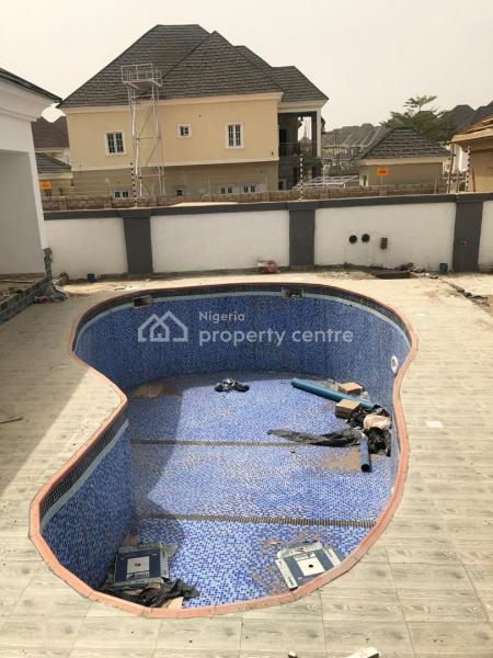 5 Bedroom Detached Duplex with 2 Room Bq, Efab Metropolis, Gwarinpa, Abuja, Detached Duplex for Sale