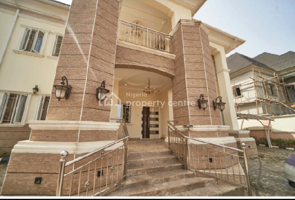 Fully Furnished 4bed Detached Duplex with 2sitting Rooms, B and a Pool, Efab Metropolis Estate, Karsana, Abuja, Detached Duplex for Sale