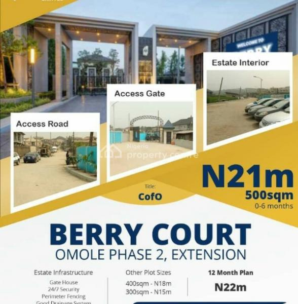 Berry Court, Phase 2 Extension (with C of O), Sharing Boundary with Magodo., Omole Phase 2, Ikeja, Lagos, Mixed-use Land for Sale