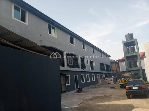 Standard 30 Miniflat with 2bedroom Good for Commercial on 2plot, Oko Oba, Oko-oba, Agege, Lagos, Block of Flats for Sale