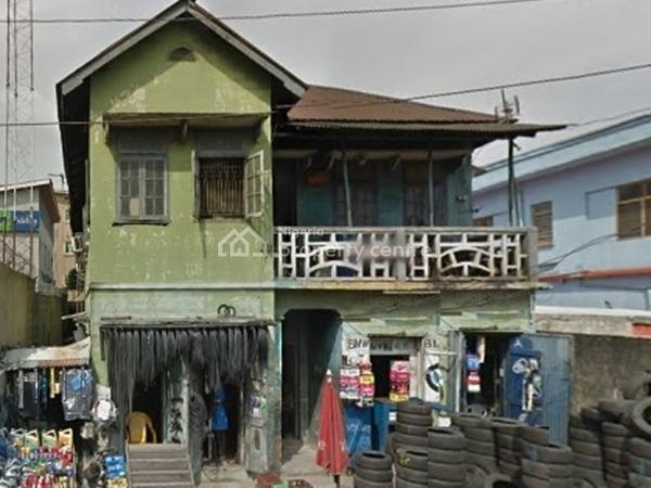 a Tenement Storey Building on 1,050sqm, Ebute Metta West, Yaba, Lagos, House for Sale