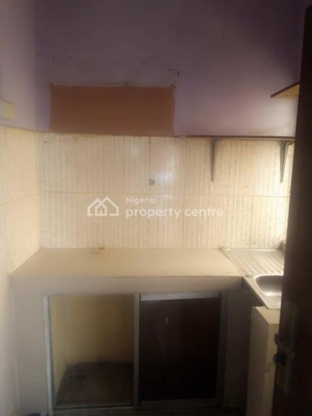 a Very Spacious Mini Flat Upstairs with 2 Toilet &  Shower, Tiles, War, in a Nice and Secured Location at Obasa Close Off Oba Akran Avenue, Oba Akran, Ikeja, Lagos, Mini Flat for Rent