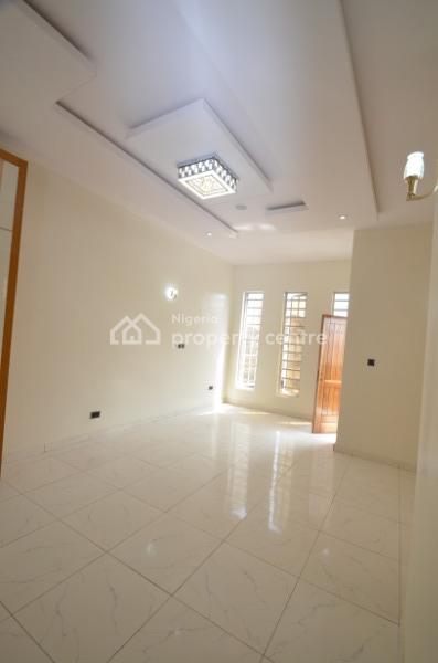Nicely Built 4 Bedroom Semi Detached Duplex with Bq, Inverter & Solar, Chevron Drive, Lekki Expressway, Lekki, Lagos, Semi-detached Duplex for Sale