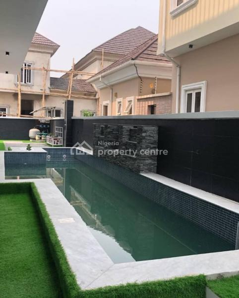 Fully Automated 4 Bedroom Fully Detached Duplex with a Bq, Osapa, Lekki, Lagos, Detached Duplex for Sale