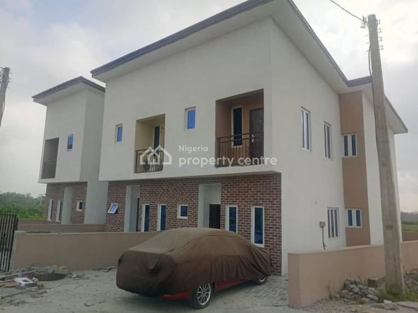 a Luxurious 3 Bedroom Terrace Duplex in a Beautiful Estate, Sangotedo, Ajah, Lagos, Terraced Duplex for Sale
