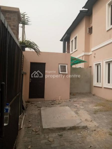 4 Bedroom Semi Detached Duplex with a Bq, Agungi, Lekki, Lagos, Semi-detached Duplex for Rent