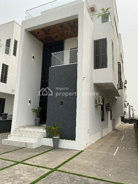 Luxury 5 Bedroom Duplex with Bq in an Exclusive Estate, Shop Rite Road, Osapa London (3 Mins Away From Expeess Road)., Osapa, Lekki, Lagos, Detached Duplex for Sale