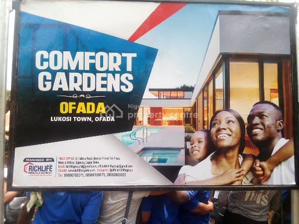 Plots of Land at Comfort Gardens, Richlife Comfort Garden, Lukosi Town, Ofada, Mowe Ofada, Ogun, Residential Land for Sale