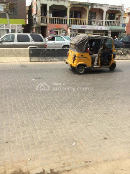 a Plot of Land with Shops and Flats, Ago Palace, Isolo, Lagos, Plaza / Complex / Mall for Sale