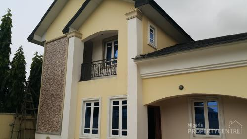 Nice 5 Bedroom Detached House With Boys Quarters Ajah