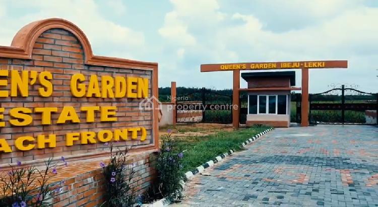 Estate Land, Queens Garden Estate, Eleko Coastal Road Beachfront, Ibeju Lekki, Lagos, Residential Land for Sale