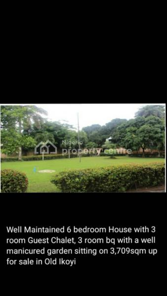 Well Maintained & Spacious 6 Bedroom House,with 3 Room Guest Room, Off Gerrard Rd, Old Ikoyi, Ikoyi, Lagos, Detached Duplex for Sale