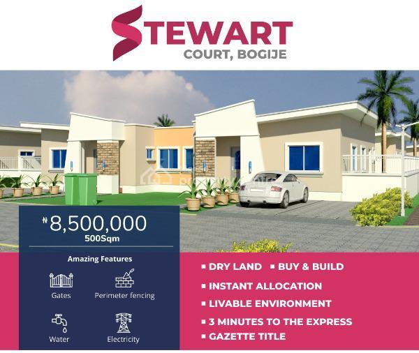Fantastic Offer at Stewart Court, Jehovah Witness Bus Stop, Bogije, Bogije, Ibeju Lekki, Lagos, Mixed-use Land for Sale