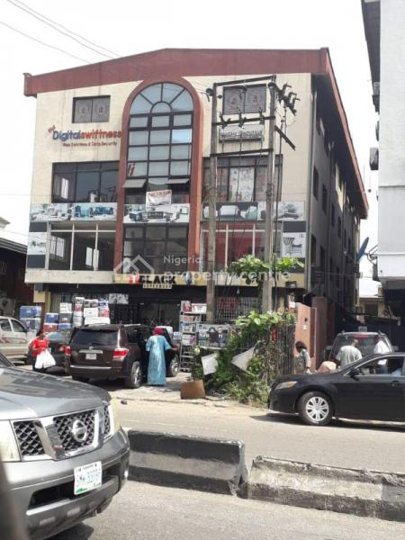 a 3storey Building Office Complex with 4 Open Plan Floors and More, Toyin Street ., Opebi, Ikeja, Lagos, Plaza / Complex / Mall for Sale