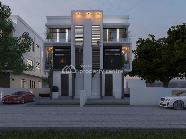 Luxury 5 Bedroom Semi- Detached House, Parkview, Ikoyi, Lagos, Semi-detached Duplex for Sale