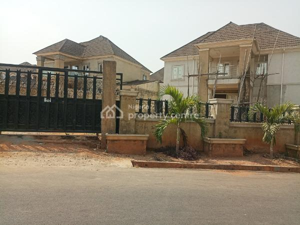 Near Complete 4bedroom Duplex with Bq, Naf Valley Estate, Asokoro District, Abuja, Semi-detached Duplex for Sale