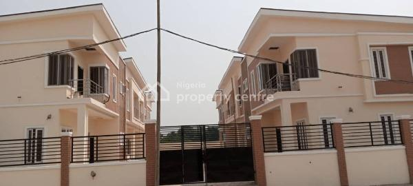 4 Bedroom Terrace Duplex in a Serene Environment, Charis Court 1 Estate, Off Orchid Road By Eleganza Bust/stop, Nicon Town, Lekki, Lagos, Terraced Duplex for Sale