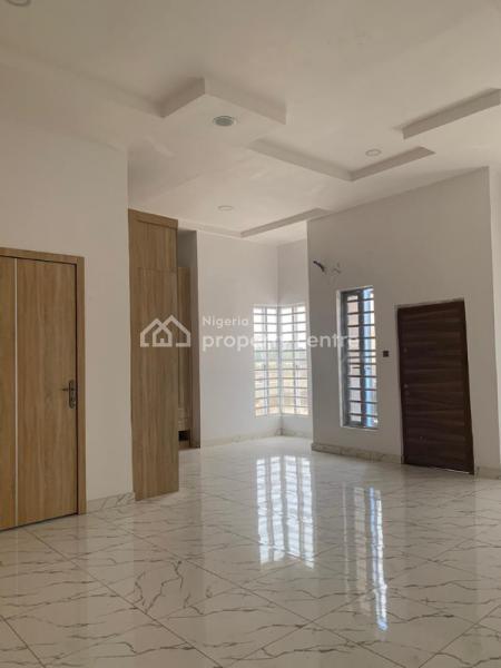 Spacious 4 Bedroom Fully Detached Duplex +bq Inverter Solar, Chevron, Lekki, Lagos, Semi-detached Duplex for Sale