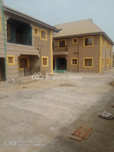 New 2 Bedroom with Wadrop and Kitchen Cabinet, Off Ekoro Junction Abule Egba By Ilepo, Oke-odo, Lagos, House for Rent
