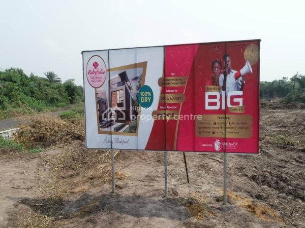 Smart City. Best Developing Land in an Estate, Few Minutes From La Campaign Tropicana Beach in Rubyfields Estate, Okun Imedu, Ibeju Lekki, Lagos, Residential Land for Sale