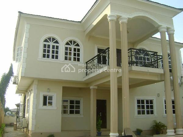 a Luxury 5 Bedroom Detached Duplex with Terrace on 2 Plots, Oluyole, Ibadan, Oyo, Detached Duplex for Sale
