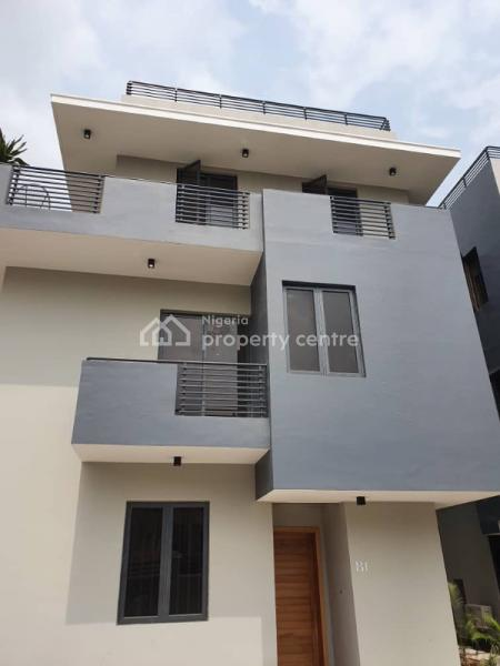 Newly Built 4 Bedroom Duplex, 2nd Avenue, Banana Island, Ikoyi, Lagos, Terraced Duplex for Sale