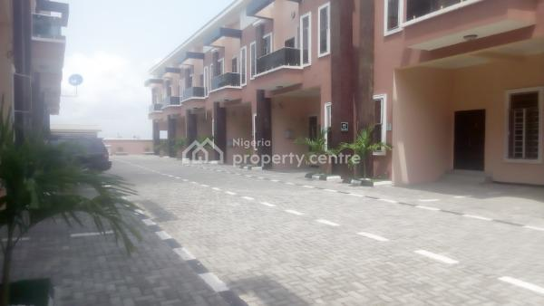 Beautifully Finished 4 Bedroom Terraced Duplex, Chevron Alternative Route, Lekki, Lagos, Terraced Duplex for Sale