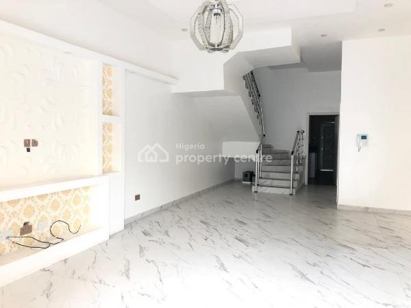 4 Bedroom Semi Detached Duplex with a Room B/q, Chevron Area,lekki, Lekki Phase 1, Lekki, Lagos, Semi-detached Duplex for Sale