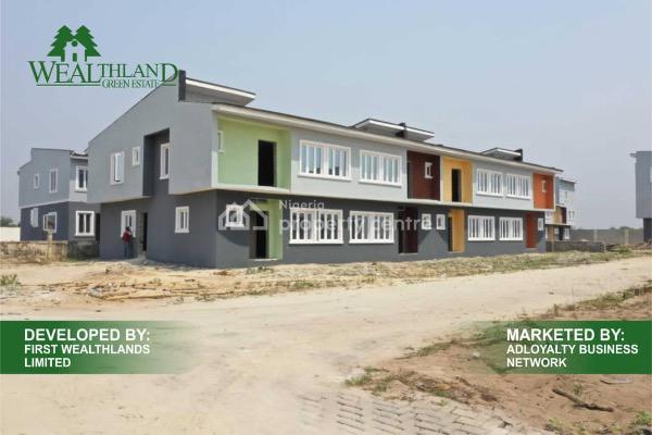 3 Bedroom Terraced Duplex, Lekki-epe Expressway, Oribanwa, Ibeju Lekki, Lagos, Terraced Duplex for Sale