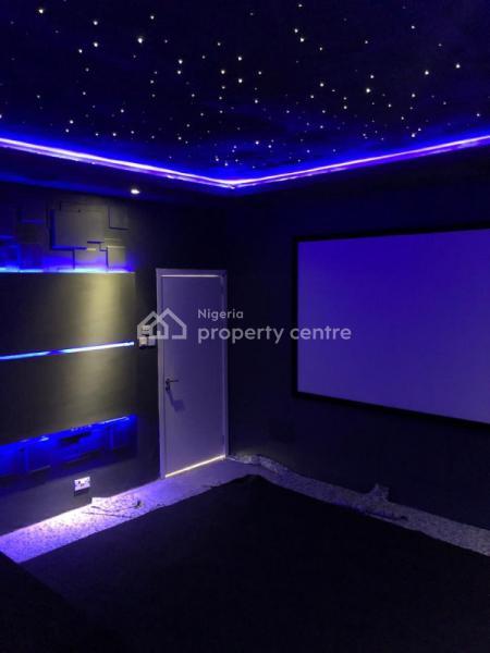 3 Bedroom Terrace Duplex with Bq, Swimming Pool and Cinema, Lekki Phase 1, Lekki, Lagos, Detached Duplex for Sale