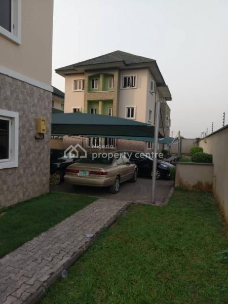 Four Bedrooms Terrace House with Bq, Willow Green Estate Osapa London, Osapa, Lekki, Lagos, Terraced Duplex for Sale