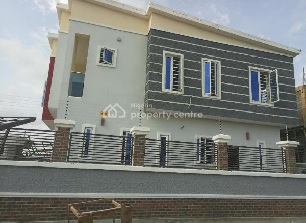 Finished 4 Bedroom Fully Detached Duplex with Bq, After Chevron, Before 2nd Toll Gate, Ikota, Lekki, Lagos, Detached Duplex for Sale