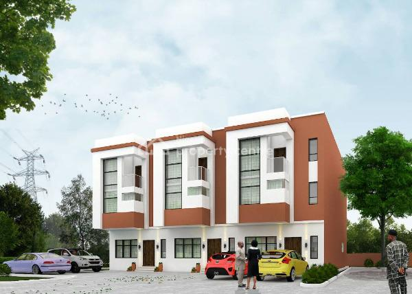Congratulations on The Brand New Affordable Estate for Comfort, Salvation Road, After Sheraton, Right End of The Road, Omega Courts, Opebi, Ikeja, Lagos, Block of Flats for Sale
