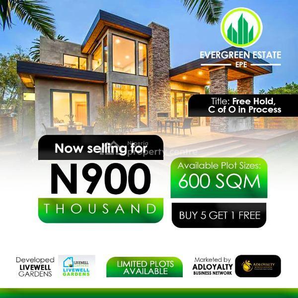 Land, Evergreen Estate, Odo-ogiri, Epe, Epe, Lagos, Mixed-use Land for Sale