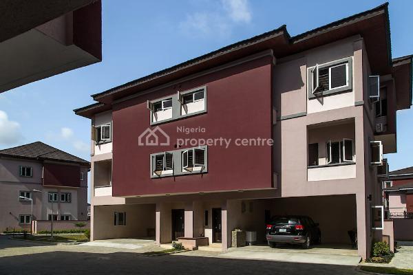 4 Bedroom Terraced House in a Gated Serene Estate, Serene Court 2, Osapa, Lekki, Lagos, Terraced Duplex for Rent