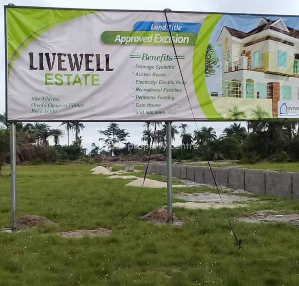 Luxurious Land at Livewell Estate, Livewell Esate, Folu Ise, Ibeju Lekki, Lagos, Residential Land for Sale