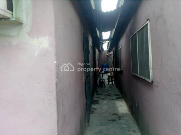 a Dilapidated Bungalow, Okoh Drive Off Michael Ogun, Ogunlana, Surulere, Lagos, Residential Land for Sale