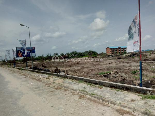 Estate Land C of O Dry Land in Develop Area with Light, Abijo Gra, Sangotedo, Ajah, Lagos, Residential Land for Sale