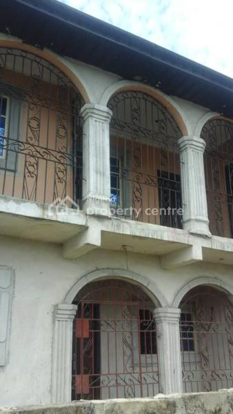 Storey Building of 6 Flats, Jeddo Close to Refinery, Warri, Delta, Block of Flats for Sale