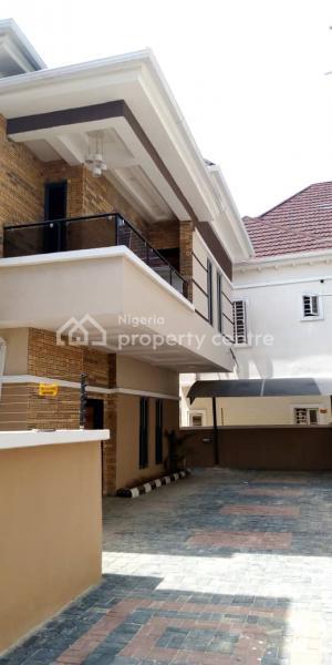 Luxurious 5 Bedrooms Fully Detached Duplex with a Bq Duplex, Chevron, Lekki, Lagos, Detached Duplex for Rent